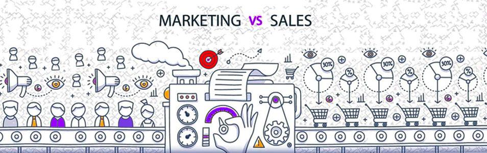 روش اجرای علم بازاریابی، فروش