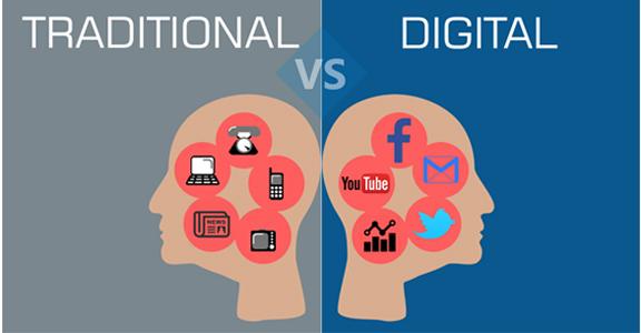 تفاوت رسانه های بازاریابی سنتی و مدرن